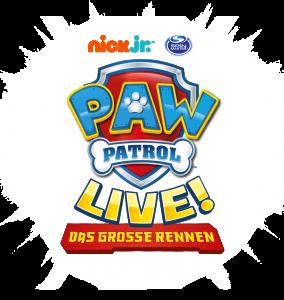 """PAW Patrol Live! """"Das große Rennen""""-Tour"""